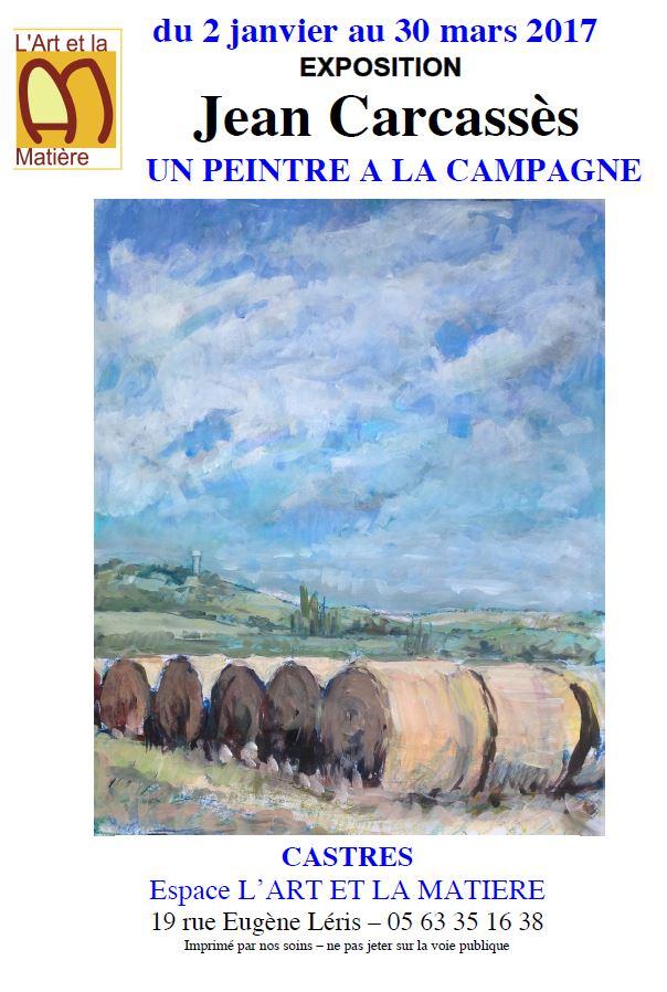 Exposition Jean Caracassès à Castres