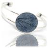 Bracelet Graphique Bleu de Pastel