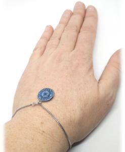 Bracelet chaînette pastel