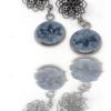 Mandala et bleu de pastel, spritualité et tradition