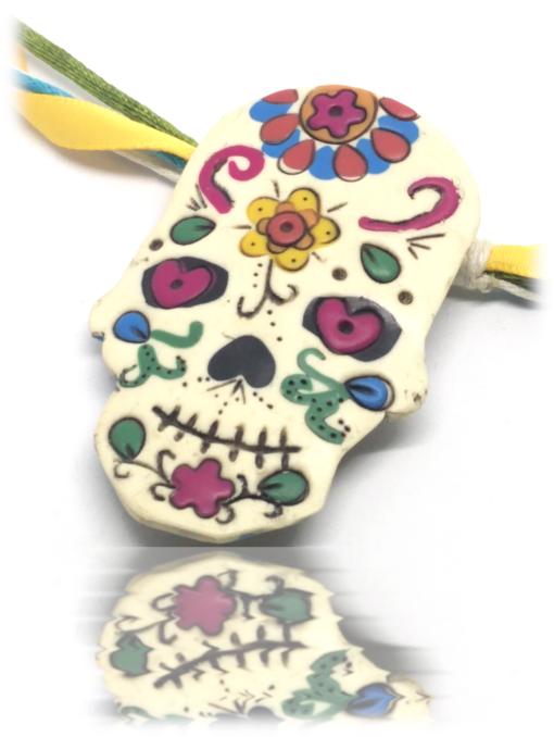 Pendentif Mexican Skull