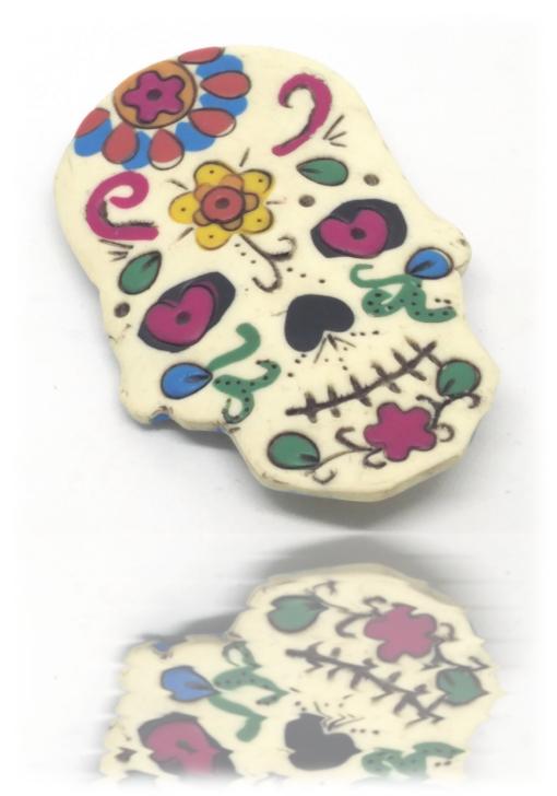 Broche maxican skull