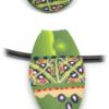 Parure ethnique de bijoux artisanaux
