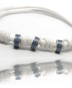 Bracelet Réglable Homme Bleu de pastel
