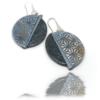 Boucles d'Oreilles ethniques artisanales Japonisantes