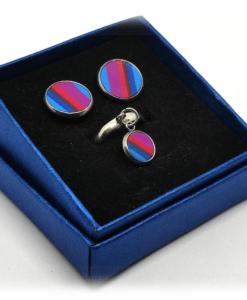 Bijoux artisanaux rayés